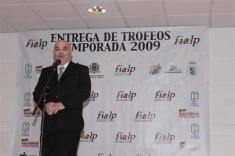GALA ENTREGA DE TROFEOS 2009