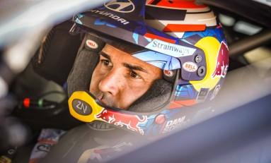 Dani Sordo compite por primera vez en África con el Hyundai i20 Coupé WRC