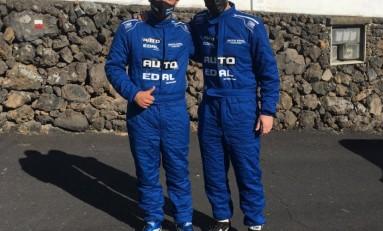 Auto Édal Competición contentos con la participación de David Perdomo (Clio Cup) y Alejandro Palmero (325i E30) en la IV Subida a San Isidro