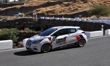 Jesé Ramos y Alejandro Falcón dominan con autoridad el Rallye de Teror