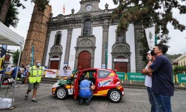 Armiche Mendoza finaliza el Rallye Villa de Teror