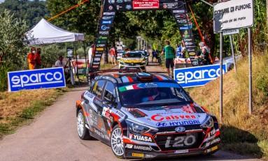 Ares-Vázquez completan el Rally di Roma Capitale