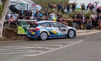 Cuarta victoria del año para Cruz-Mujica y el Ford Fiesta de DISA-Copi Sport