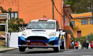 DISA Copi Sport aspira a consolidar el liderato con el Ford Fiesta Rally2 en Adeje