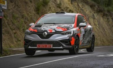 Xevi Pons Rally Academia estrena en España el Renault Clio Rally4 con Alejandro Mauro