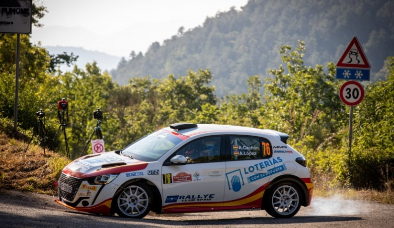 El Rally Team Spain, a por todas en Roma
